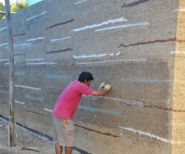 Rammed Earth Wall Chiangmai Life Construction Earth