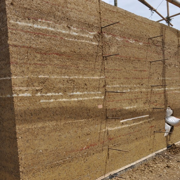 Earth Building: Rammed Earth Walls