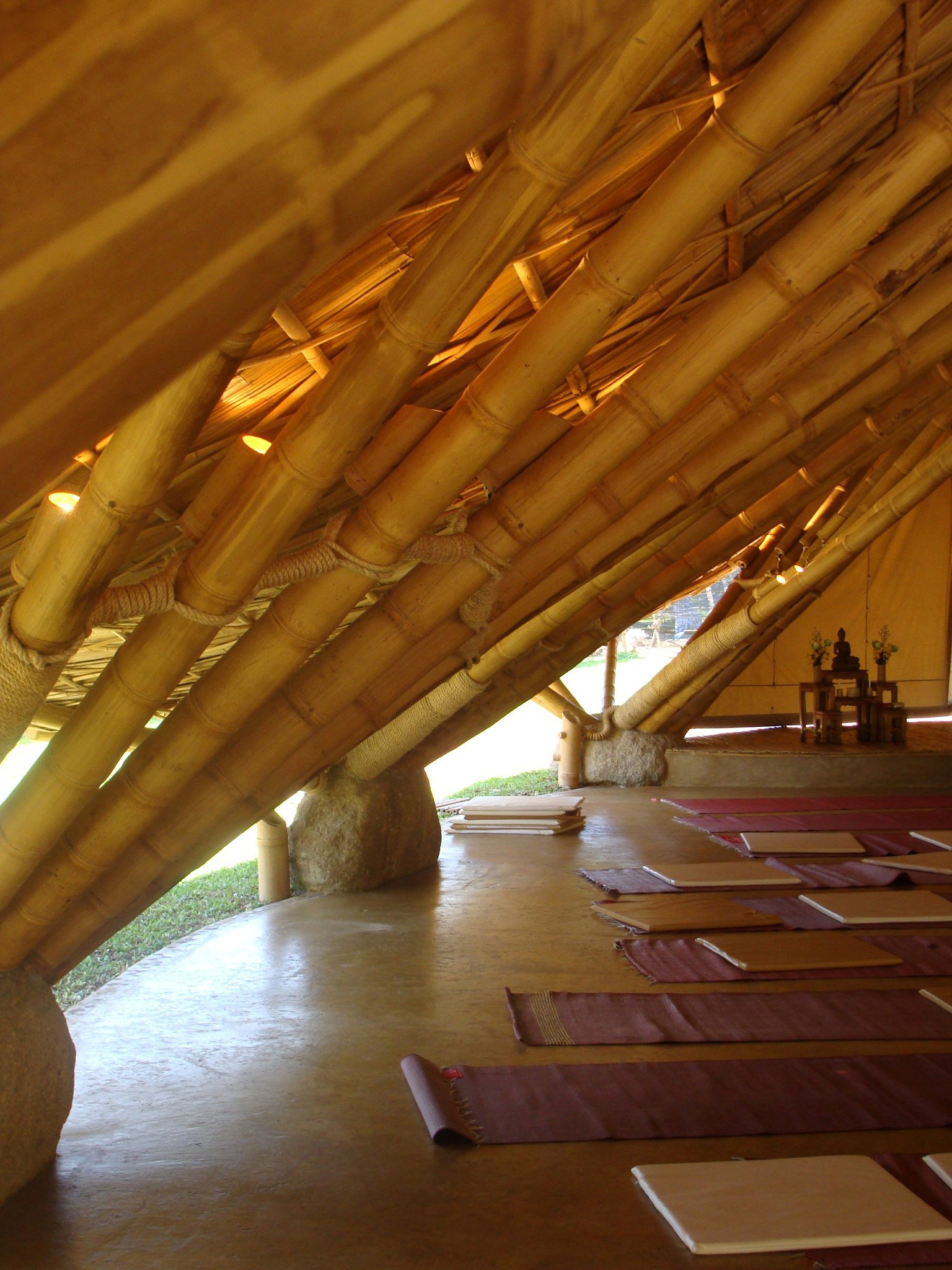 bamboo architecture construction by chiangmai life construction only a few are useful for bamboo architecture construction though and every country has its own good ones the biggest and strongest bamboo in thailand is