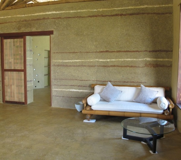 Rammed Earth Wall And Floor