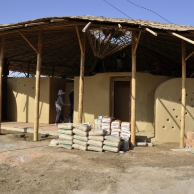 Adobe Brick Earth Construction