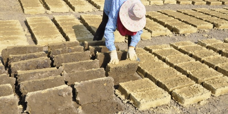Adobe Bricks Earth Architecture