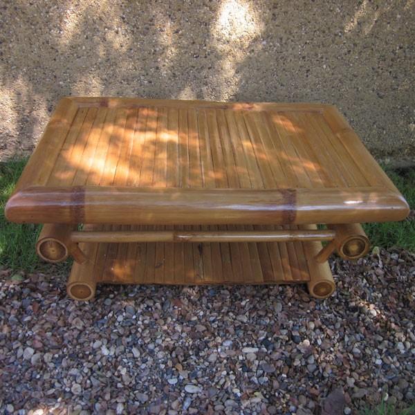 Furniture Bamboo Coffee Table