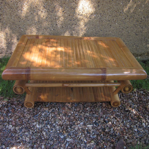 Furniture Bamboo Coffee Table