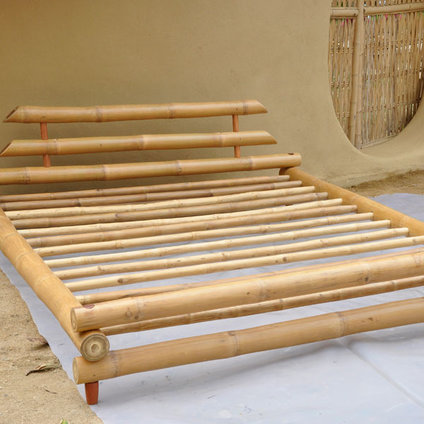 Furniture Bamboo King Size Bed