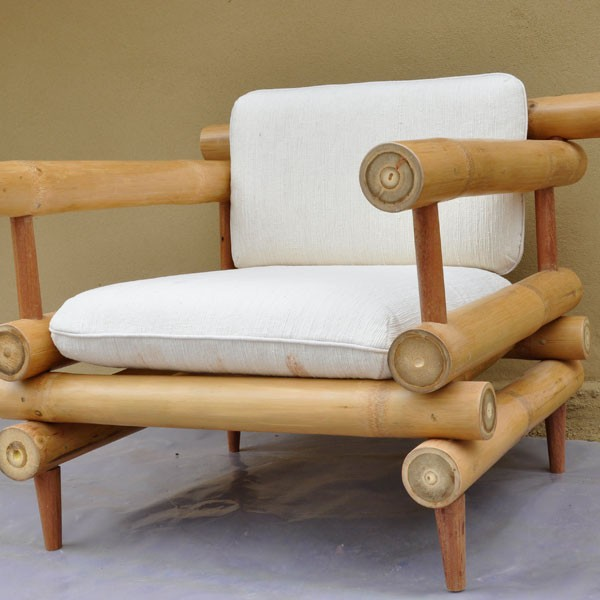 Bamboo Furniture At Chiangmai Life Construction Clc Cla