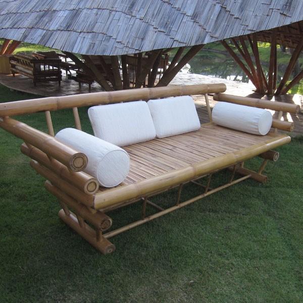 Furniture Elephant Bamboo Sofa