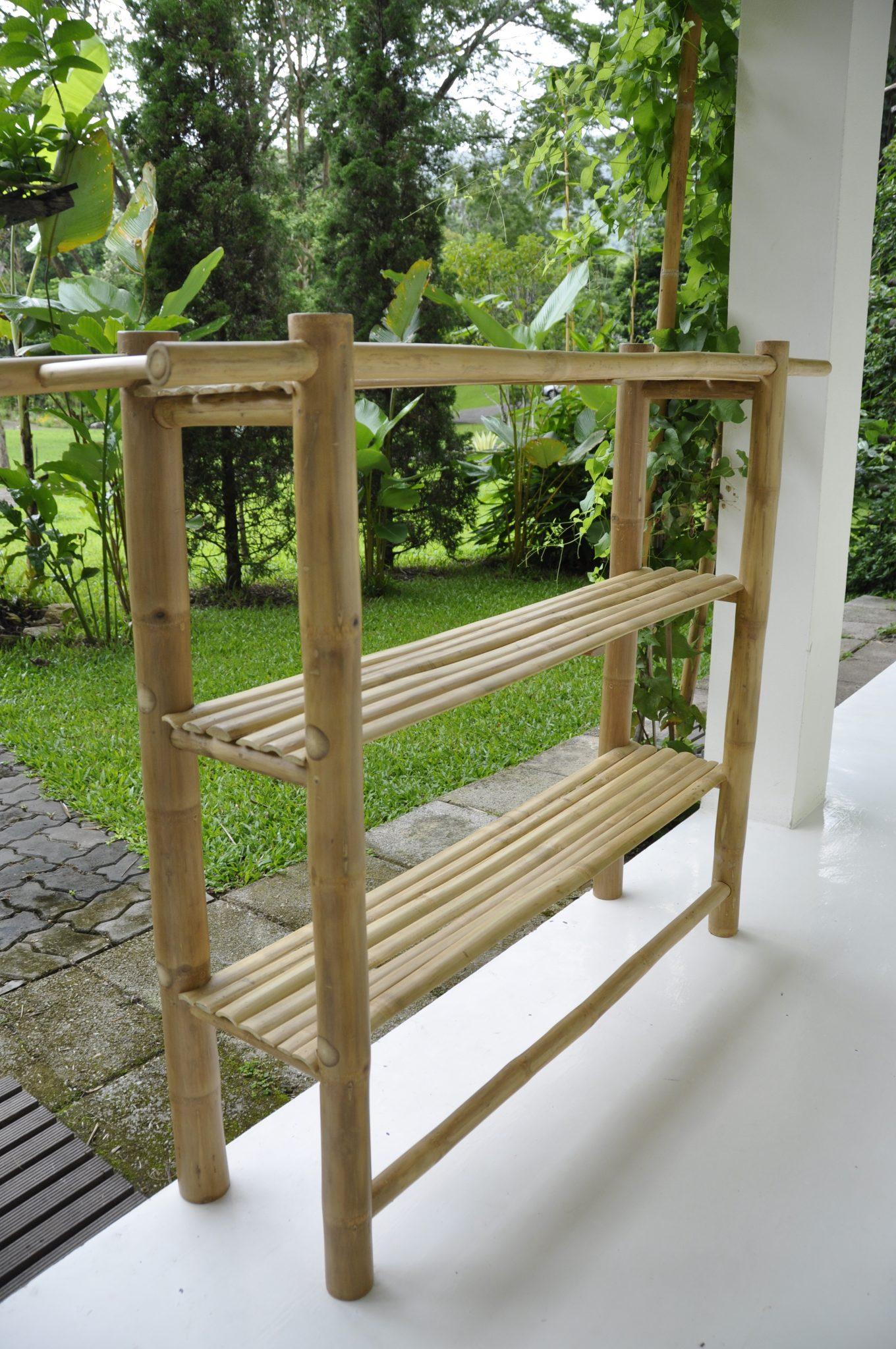 bamboo double grassracks organization pdx wayfair floating storage shelf