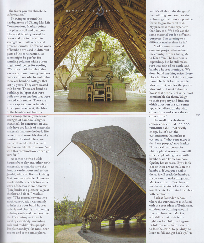 Chiangmai Life Construction In The Magazine April 2014
