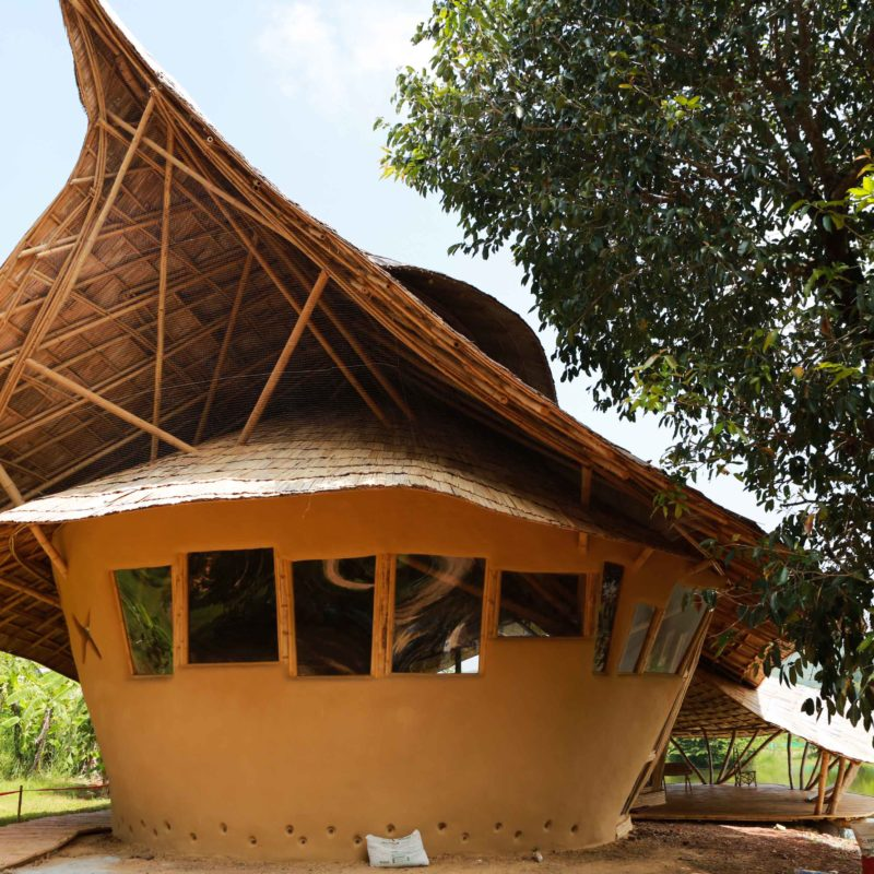Art House Bamboo Earth Architecture Chiangmai Life