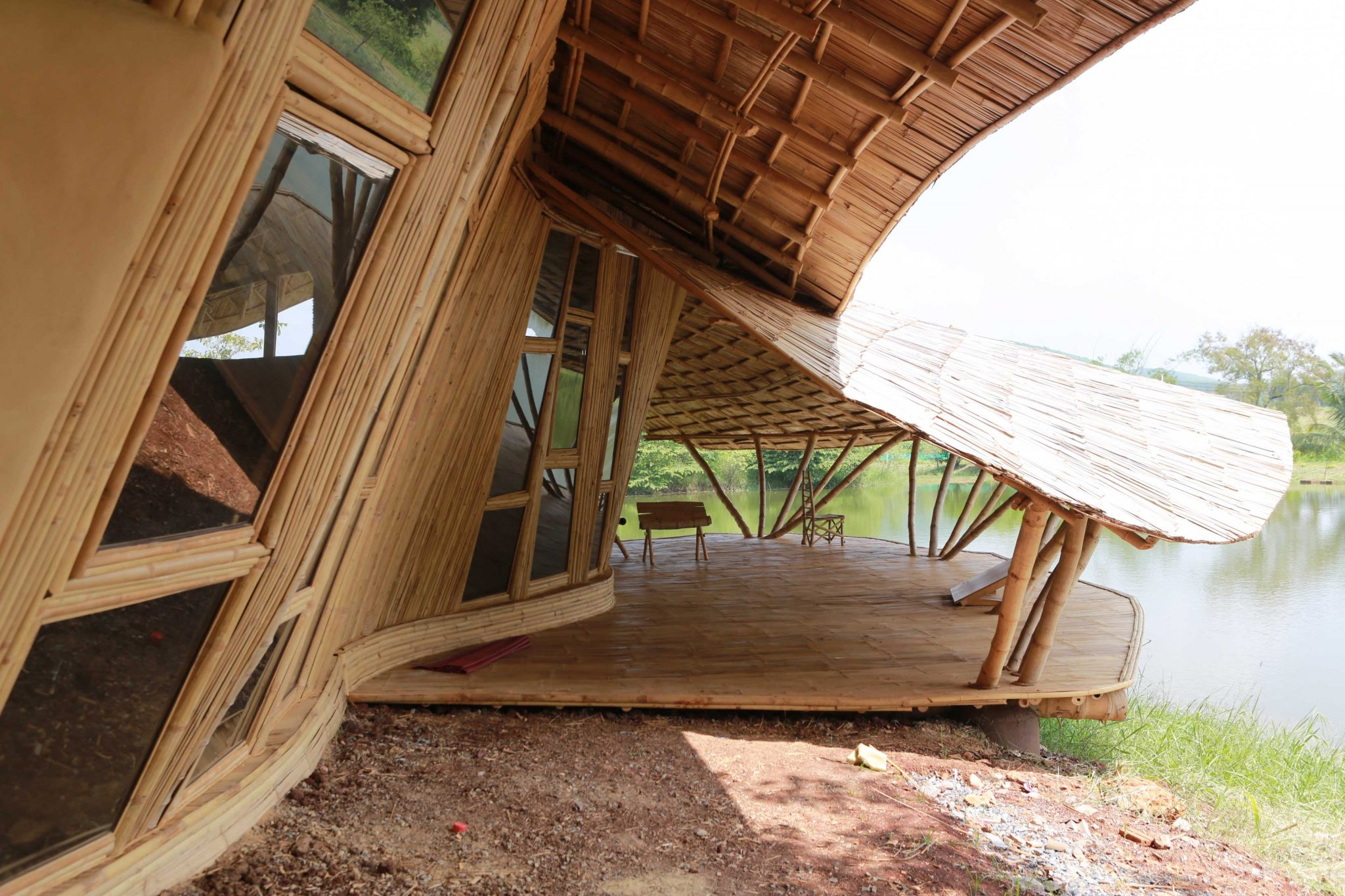 Art House Bamboo Earth Architecture Chiangmai Life