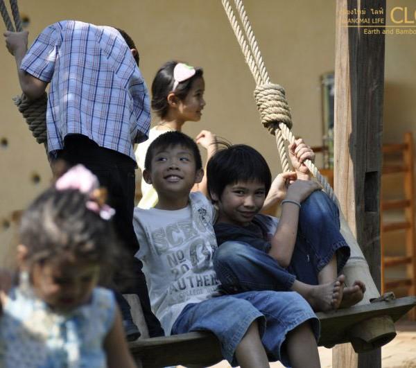 Bamboo Playground Panyaden School