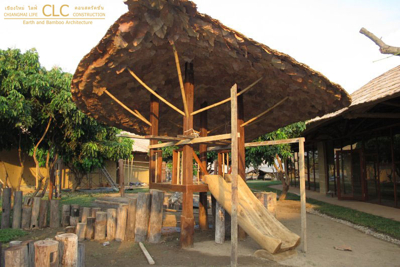 Bamboo Playground At Panyaden School