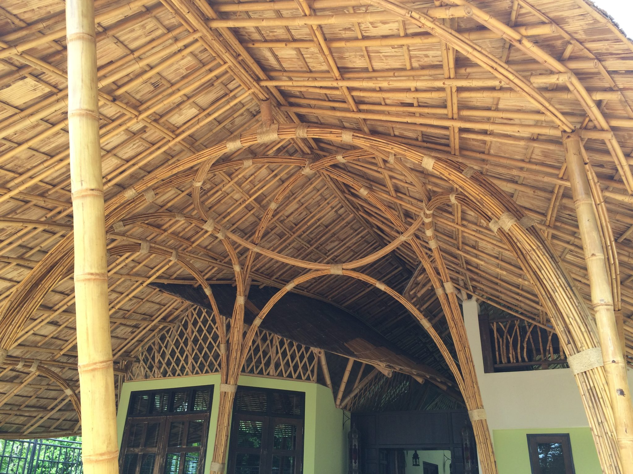 Bamboo Construction Home