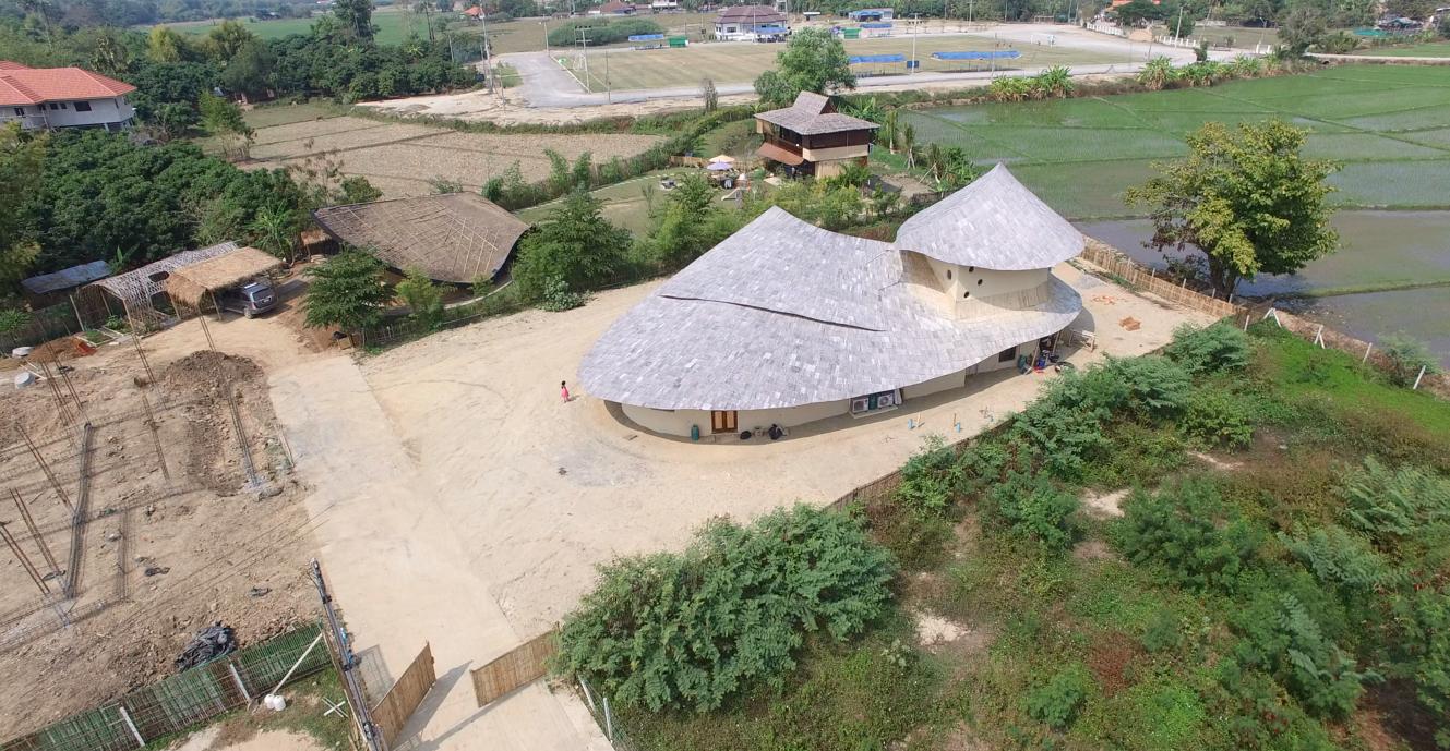 2 Storey Bamboo Earth Family Home By Chiangmai Life