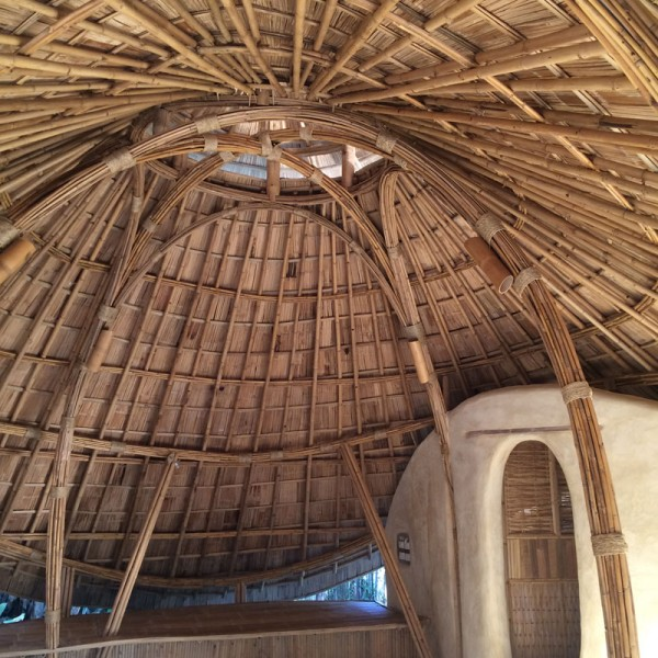How To Build The Roof Of A Grass Hut Africa Thatch Reed