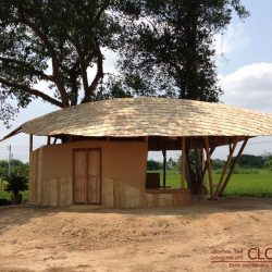 Bamboo Earth Garden Hut