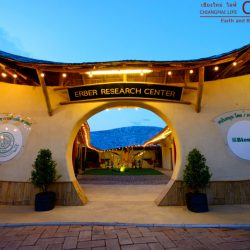 Erber Research Center & Lecture Hall Bamboo Earth Architecture By CLC