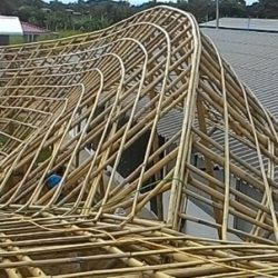 Earth And Bamboo Building
