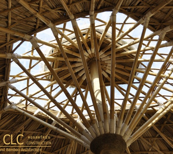 Panyaden School Bamboo Earth Architecture Clc
