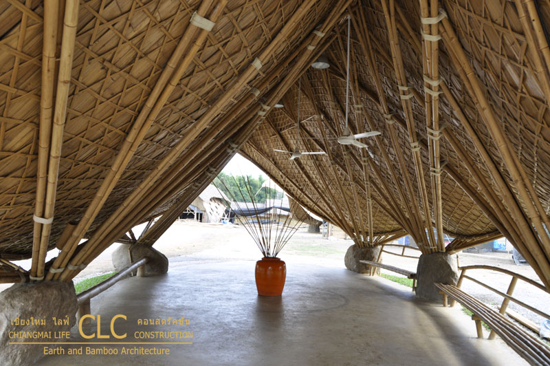 Thai Sala Bamboo Architecture Chiangmai Life Construction