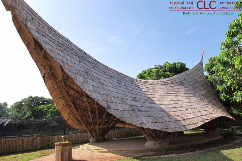 Panyaden School Bamboo Earth Architecture Clc