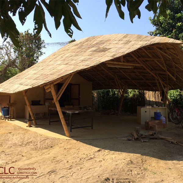 Bamboo Workshop Building