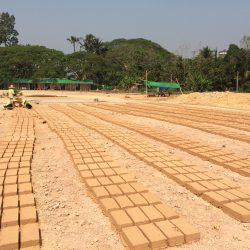 Adobe Bricks - YDF School Building By CLC