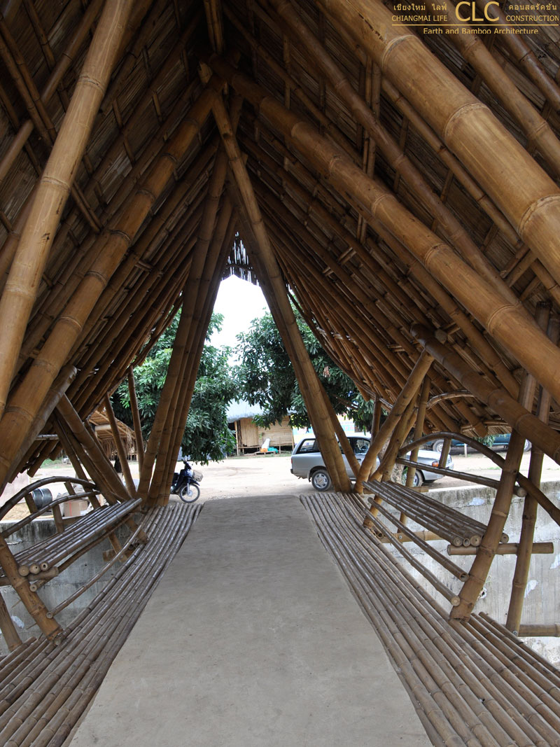 Classroom Design Architecture ~ Bamboo bridges architecture chiangmai life