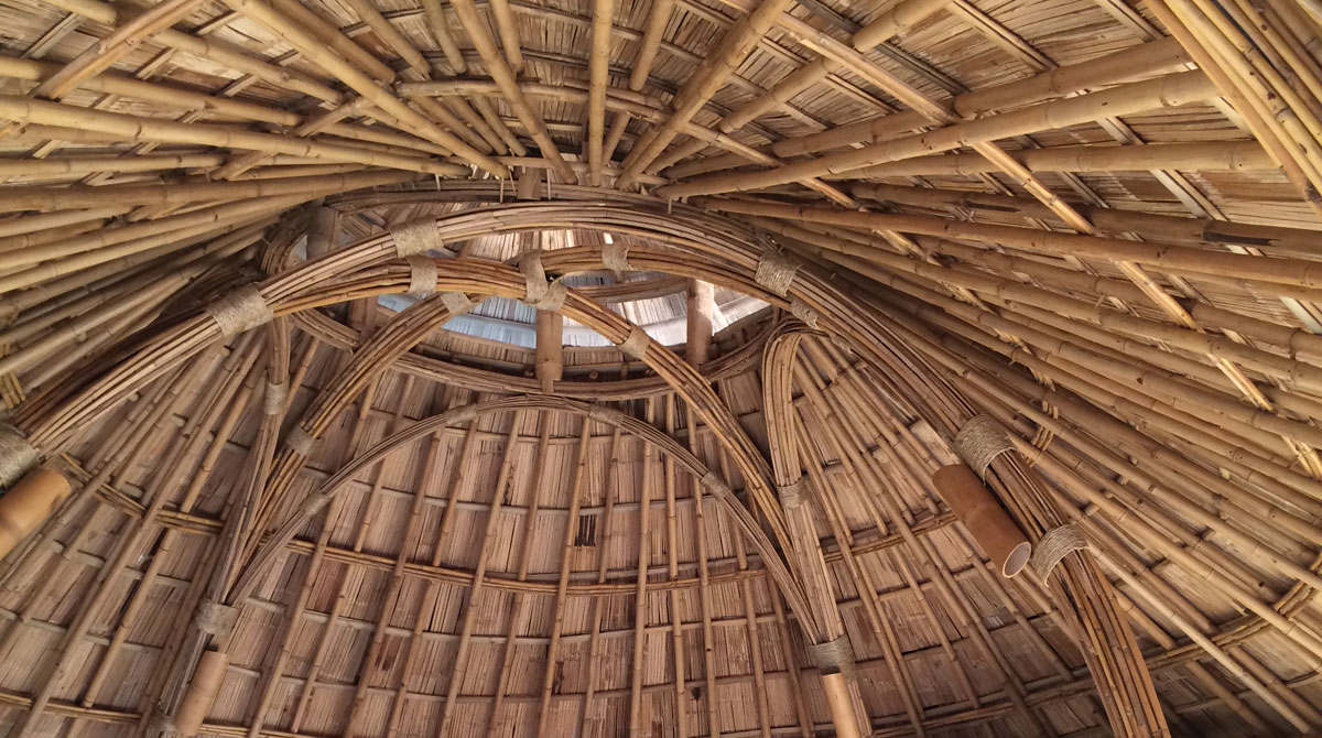 earth and bamboo architecture