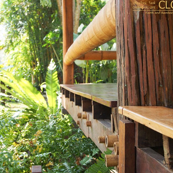 Nature Hut Kutti Phra Bamboo Earth Architecture