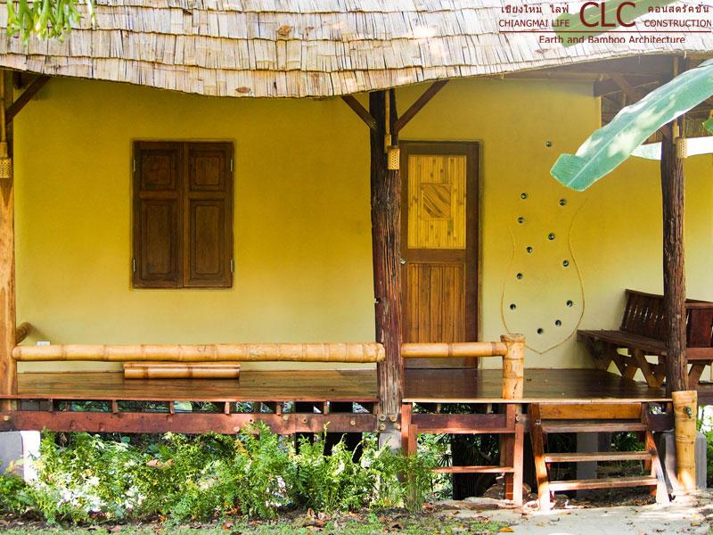 Nature Hut Kutti Phra Bamboo Earth Architecture