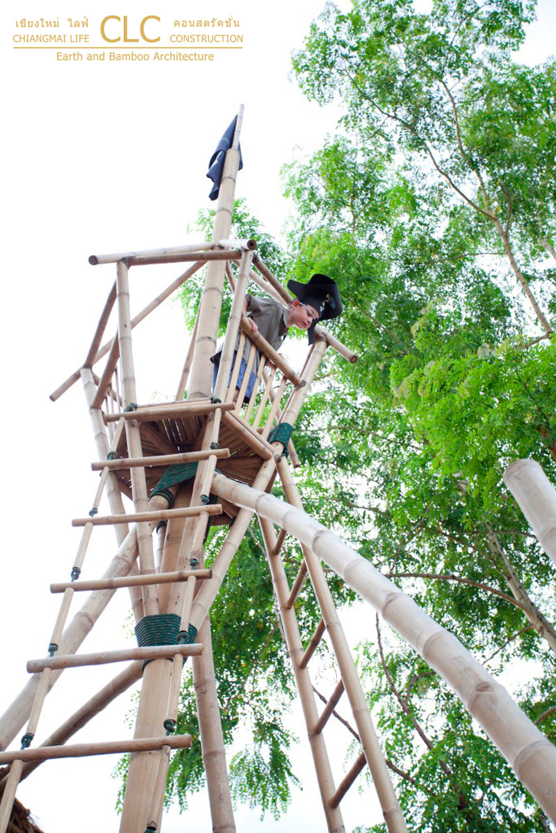 Playboat Bamboo Architecture Chiangmai Life Construction