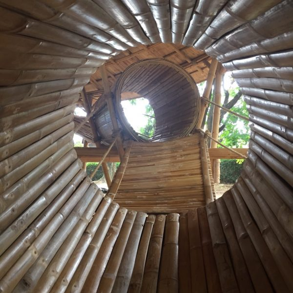 Bamboo Playground For Triplets Restaurant