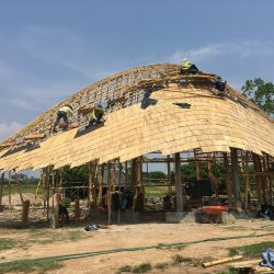 Bamboo Roof By Chiangmai Life Construction