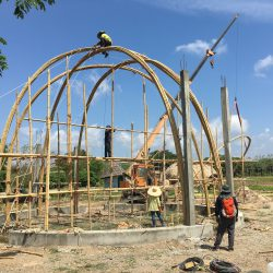 Bamboo Dome / Bamboo Architecture By CLC