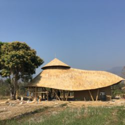 Wine Tasting Bamboo Pavilion