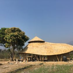 Wine Tasting Bamboo Pavilion Bamboo Architecture