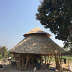 Wine Tasting Bamboo Pavilion Bamboo Architecture