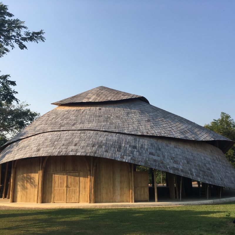 Panyaden International School Sports Hall Bamboo Architecture