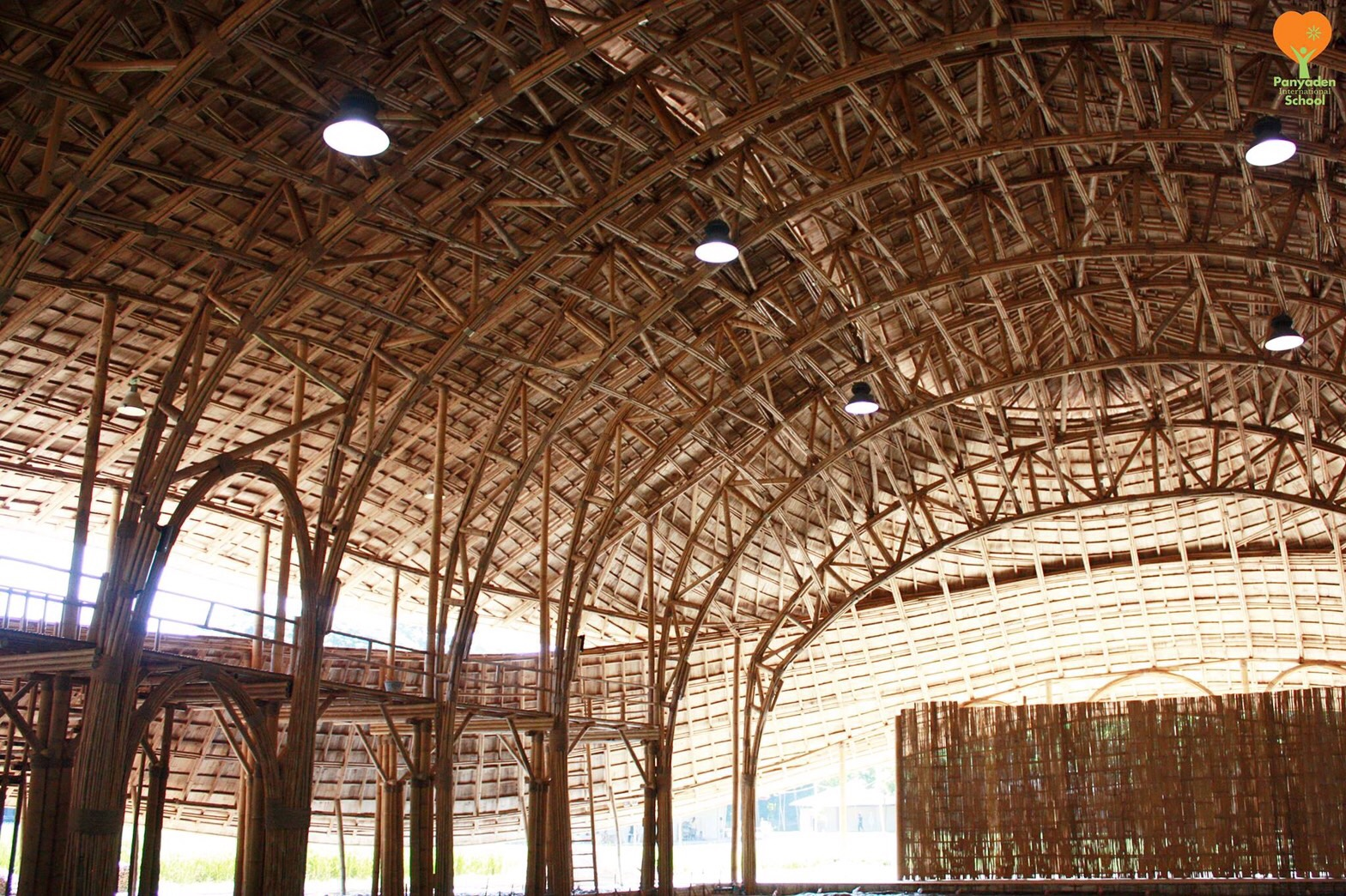 Panyaden International School Sports Hall Bamboo