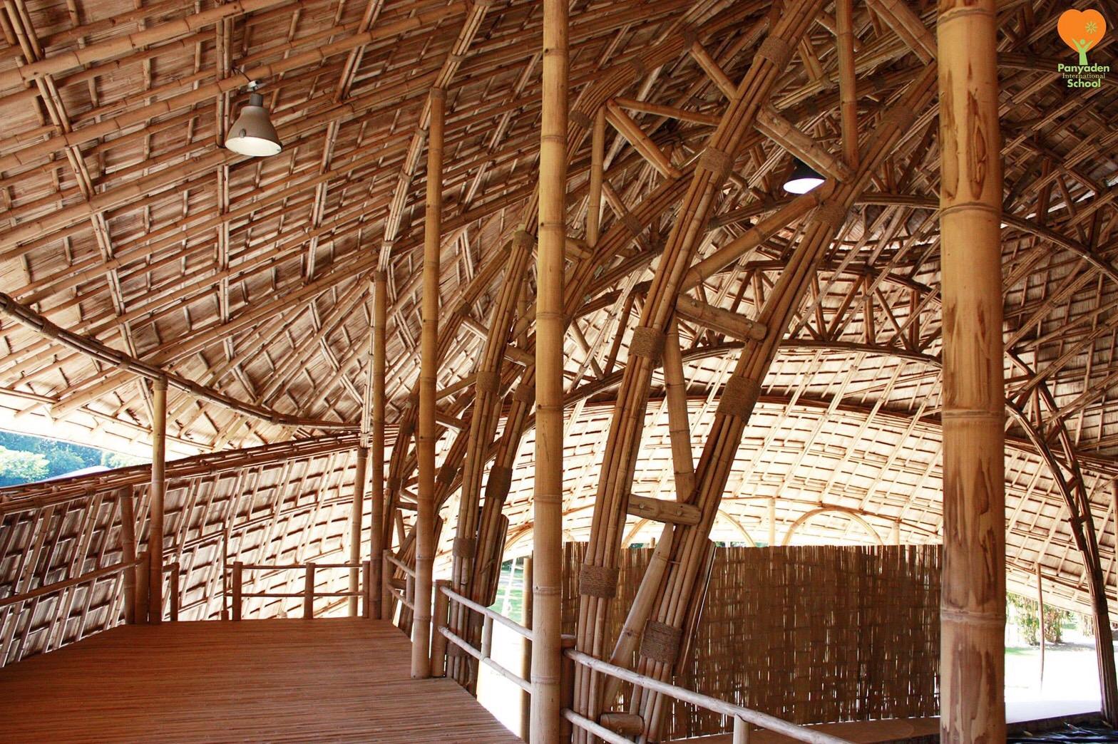 Panyaden International School Sports Hall Bamboo