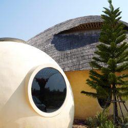 Exterior Dome House