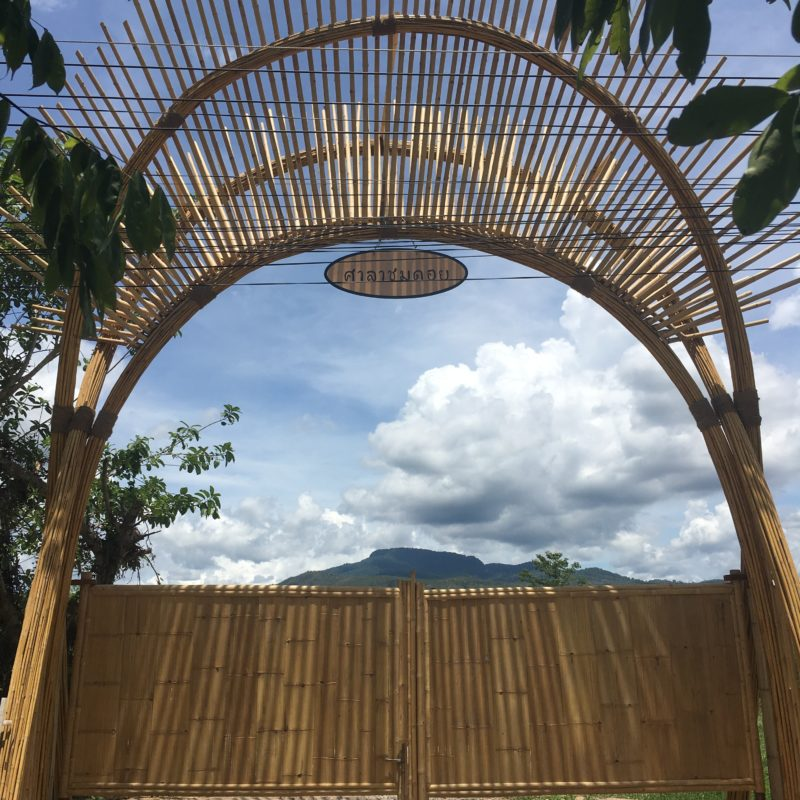 Bamboo Sala For Winetasting By CLA