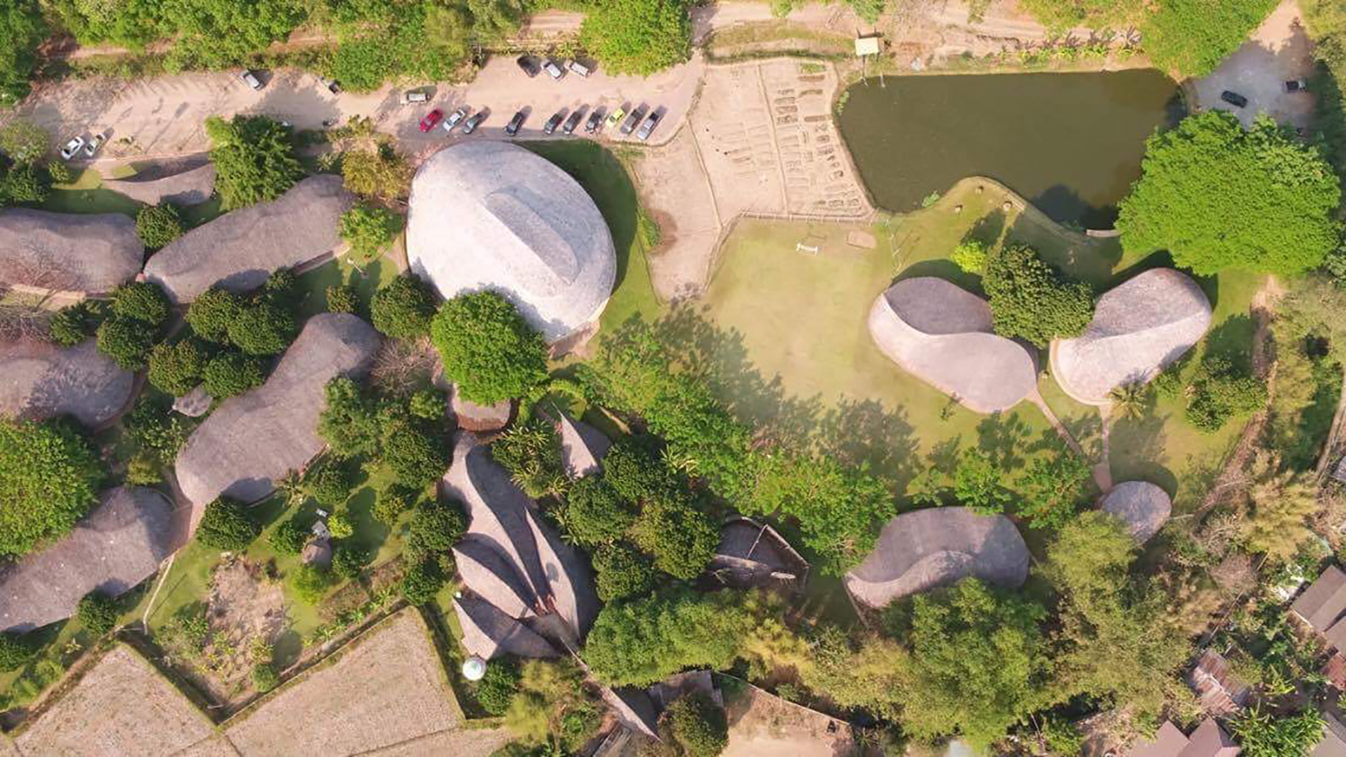 Designboom publishes the Bamboo Sports Hall