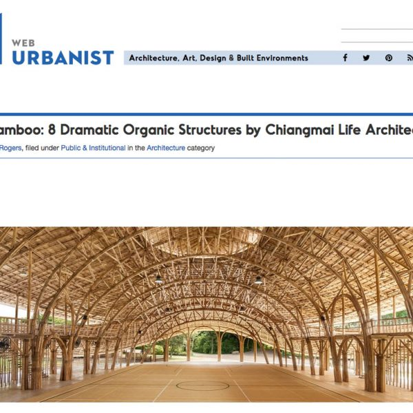 Dramatic Organic Bamboo Structures