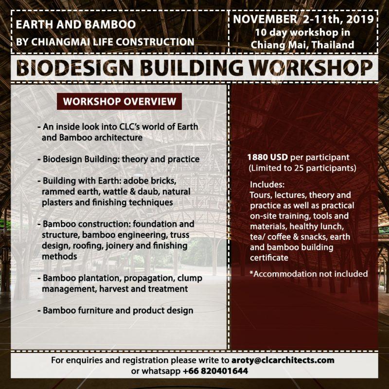 CLA Bamboo & Earth Workshop