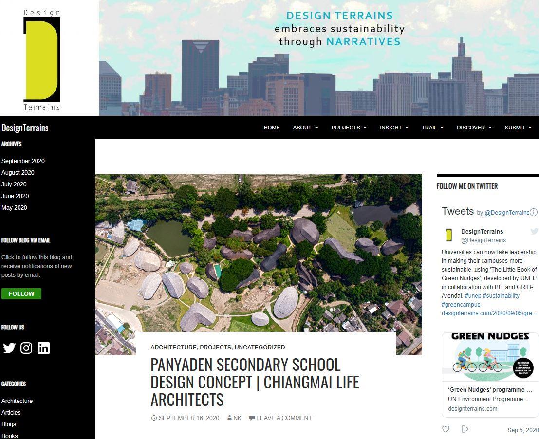 Panyaden International School On Design Terrains